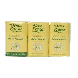 Heno De Pravia Soap (3 bars)