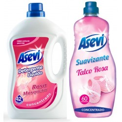 Asevi Detergent and Softener Bundle