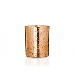 scented rose gold candle