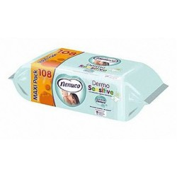 Nenuco Baby Wipes large (108 wipes)